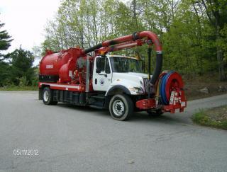 Vac Con Truck